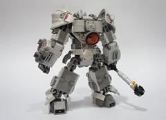 Reinhardt03 (chubbybots) Tags: lego overwatch reinhardt mod 75973