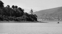 Scotland West Coast the Cloch lighthouse at Gourock 1 July 2018 by Anne MacKay (Anne MacKay images of interest & wonder) Tags: scotland west coast sea cloch lighthouse gourock monochrome blackandwhite landscape 1 july 2018 picture by anne mackay