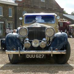 Rolls-Royce 25-30 Hooper Sports Saloon 1936 P1430183mods (Andrew Wright2009) Tags: historic dockyard 1940s weekend kent england uk heriatge history cars automobiles classic vehicle chatham rollsroyce 2530 hooper sports saloon 1936