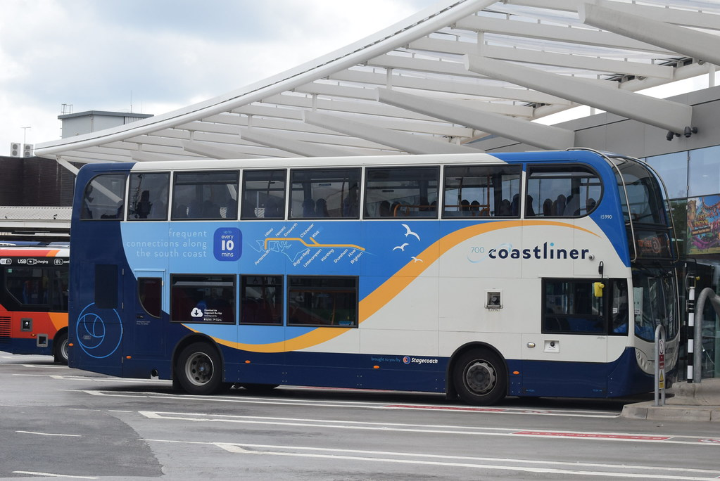SS 15990 The Hard Interchange Portsmouth Ianjpoole Tags Stagecoach South Scania