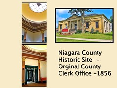 Lockport New York - NIagara County Clerk Office  - Historic Building - 1856 (Onasill ~ Bill Badzo - 62 Million - Thank You) Tags: lockport ny newyork sate clerkoffice niagaracounty 1856 historic building historicalsociety dome lobby collage state onasill nrhp town cambria vintage photo