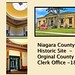 Lockport New York - NIagara County Clerk Office  - Historic Building - 1856