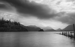 Friars Crag Derwenwater (Esox2402) Tags: derwenwater lake district fence hills clouds mono canon6d 1740f4l bigstopper landscape sky water tree bay