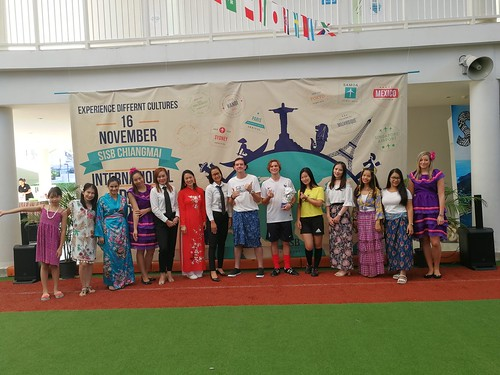 International Day 2018 at Singapore International School, SISB, Chiang Mai campus in Northern Thailand IB