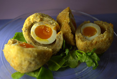 Sweet Potato Caramelised Onion & Goats Cheese and Feta Scotch Eggs (Tony Worrall) Tags: add tag ©2019tonyworrall images photos photograff things uk england food foodie grub eat eaten taste tasty cook cooked iatethis foodporn foodpictures picturesoffood dish dishes menu plate plated made ingrediants nice flavour foodophile x yummy make tasted meal nutritional freshtaste foodstuff cuisine nourishment nutriments provisions ration refreshment store sustenance fare foodstuffs meals snacks bites chow cookery diet eatable fodder ilobsterit instagram forsale sell buy cost stock sweet potato caramelised onion goats cheese scotcheggs yolk runny