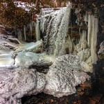 Niagara Escarpment - Ontario - Bruce Trail - Frozen Falls thumbnail