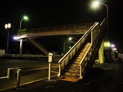 Tokyo (Meg Kamiya) Tags: tokyo japan night light colour city olympus omd em10 footbridge