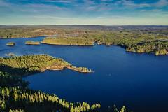 Sweden (Klas-Herman Lundgren) Tags: dalarna sweden gimmen autumn höst november forest trees lake sjö skog travel blue sverige drone sifferbo se
