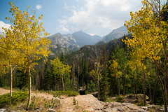Golden Gateway (stochastic-light) Tags: landscape mountains trees fall aspens fallcolors fallfoliage leaves yellow golden rockymountainnationalpark rmnp estespark rockies rockymountains colorado co hiking nature outdoors trail nikon d810 zeiss carlzeiss zf2 milvus2821 milvus21