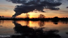 Sunset (Hedgeman2006) Tags: beeston dusk england evening goldenhour happynewyear nottingham ng9 nottinghamshire nature quiet reflection rivertrent river sunset sky trees unitedkingdom uk water
