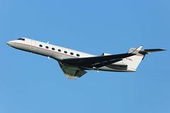 N70EL | G550 | EGCC (Ashley Stevens - AirTeamImages) Tags: manchester airport egcc man canon eos aircraft aeroplane aviation civil airplane n70el