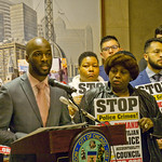 Jedidiah Brown for the 7th Ward City of Chicago Aldermanic Candidates Press Conference to Support Civilian Police Accountability Council Chicago Illinois 1-9-19 5578 thumbnail