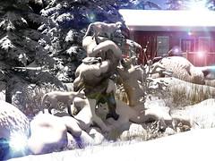 The Polar Refuge (Varosh Santanamiguel) Tags: tmcreation polar fox winter wonderland fantasy luanes tami polarbear bear refuge animals wildlife secondlife secondnature nature photographer blog sl sim simdesign simdecor decorate home homedecor garden theseasonsstory seasonsstory seasons story areiyon mesh bento vsm