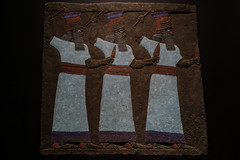 With projection: Colour reproduced (PChamaeleoMH) Tags: assyrian britishmuseum exhibition frieze london museum relief