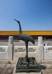 Bird Statue In Forbidden City, Beijing, China (Eric Lafforgue) Tags: mg0331 architecture asia beijing bluesky buildingexterior builtstructure china chinesescript clearsky colorpicture communism composition copyspace day famousplace forbiddencity gate history horizontal internationallandmark majestic monument nopeople outdoor pekin placeofinterest tiananmensquare traditionallychinese travel unesco vertical worldheritage