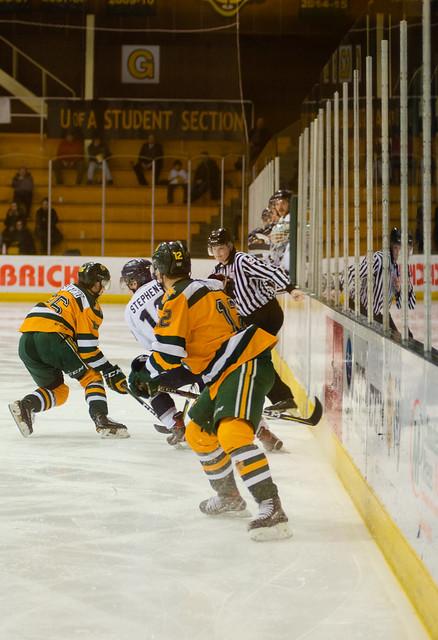 Golden Bears Hockey (01/18/19) Richard Bagan