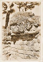 Ostia Antica-1-SMALL (AVT·PAX·AVT·BELLVM) Tags: rome monochrome nikon f4s ilford black white film 35mm albumen ostia antica street building ruin tiber river baths trastevere island temple augustus botanical garden ponte sisto matcus aurelius colunm forum roman courtyard angel alter fatherland
