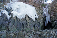 DSC03395 - Ice Flow (archer10 (Dennis) 196M Views) Tags: sony a6300 ilce6300 18200mm 1650mm mirrorless free freepicture archer10 dennis jarvis dennisgjarvis dennisjarvis iamcanadian novascotia canada baxtersharbour winter waterfall ice bayoffundy