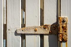 Hinged (.Stephen..Brennan.) Tags: fa77 fremantle industrial pentax pentaxk3 rust weathered perth westernaustralia australia au