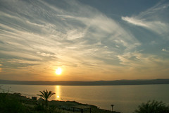 Sunset over the Dead Sea (Ralph Apeldoorn) Tags: deadsea sea sunset madaba balka jordanië jo