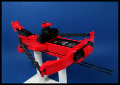 The Crossbow Home Defense Fighter (Karf Oohlu) Tags: lego moc scifi crossbow fighter silly doorframe