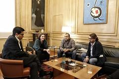 "Reunió Sindicala amb l'Alcaldessa 01 • <a style=""font-size:0.8em;"" href=""http://www.flickr.com/photos/53048790@N08/44043773290/"" target=""_blank"">View on Flickr</a>"