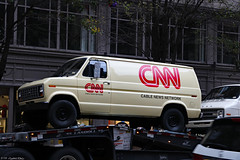 1980s scene re-creation: CNN news van (Can Pac Swire) Tags: van 1970s news media network tv television station cnn vintage filming mindhunter netflix series film production office pittsburgh pennsylvania usa unitedstates america american us making truck transporter flatbed semi semitrailer articulated artic 2018aimg5720 ford shoot movie