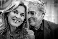 """#252 """"What the hell are you doing on this planet Michaela and Rüdiger?"""" (Hendrik Lohmann) Tags: streetphotography street streetportrait people portraits project whatthehell series blackandwhite blackandwhiteportrait nikondf bnw bw"""
