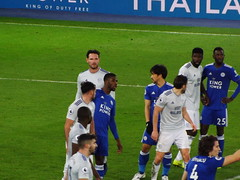 Leicester attack in the second half (lcfcian1) Tags: leicester city cardiff lcfc ccfc king power stadium epl bpl football sport footy england leicestercity cardiffcity premierleague kingpowerstadium kelechiiheanacho wilfredndidi shinjiokazaki brunoecuelemanga seanmorrison
