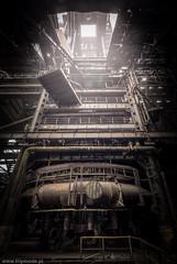 Blast furnace (trip_mode) Tags: abandoned urbex decay urban exploration plant hall trespassing industrial steel works iron ore blast furnace fog