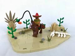 Where are my socks ? (Alego37) Tags: cheval mexicain mexique moc lego brickpirate bpchallenge