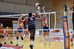 Voleibol (Logroño, La Rioja, España, 10-11-2018) (Juanje Orío) Tags: 2018 logroño larioja provinciadelarioja españa espagne espanha espanya spain europa europe europeanunion unióneuropea voleibol voley volley deporte deportefemenino chicas girls interior