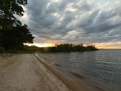 Sunset on the lake (Linda DV) Tags: lindadevolder travel africa kenya tanzania 2018 nature victorialake geotagged fauna flora