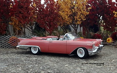 1957 Cadillac Eldorado Biarritz Convertible (JCarnutz) Tags: 124scale diecast danburymint 1957 cadillac eldorado biarritz