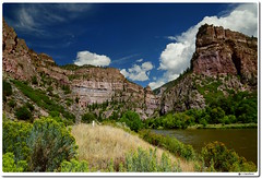 Glenwood Canyon (Explore) (our cultural archive) Tags: viewpointfrom70west colorado landscape nature mountains water travelphotography canyon coloradoriver interstate70