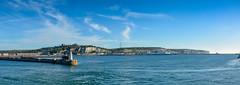 ... Port Dover ... (wolli s) Tags: dover dovercastle panorama whitecliffs england vereinigteskönigreich gb port harbour nikon d7100 stitched cliffs white castle