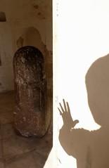 Reach out (shahmurai) Tags: fujifilmxt1 katasraj pakistan lordshiva archeology architecture shivalingam temple shadow