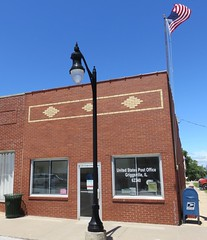 Post Office 62340 (Griggsville, Illinois) (courthouselover) Tags: illinois il postoffices pikecounty griggsville northamerica unitedstates us