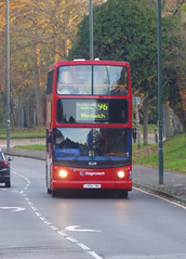 SLN 18208 - LX04FWU - WATLING STREET BEXLEYHEATH - SAT 17TH NOV 2018 (Bexleybus) Tags: stagecoach london adl dennis trident alx400 alexander tfl route 96 watling street bexleyheath kent da7 18208 lx04fwu