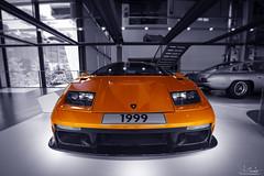 Lamborghini in VW ZeitHaus Museum - Autostadt Wolfsburg - Germany (R.Smrekar) Tags: blackwhitecolor indoor lamborghini car museum 000500 d750 smrekar 2018 germany