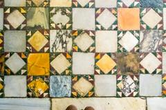 mouth of truth (M00k) Tags: italië rome basilica santamariaincosmedin tile mosaic floor boccadellaverità