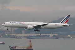 AF B77W F-GSQC (EddieWongF14) Tags: airfrance boeing boeing777 boeing777300er boeing777328er b777 b77w 777 77w 777300er 777328er fgsqc