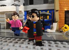 I'm the New Superman in Town (-Metarix-) Tags: lego super hero minifig dc comics comic boy superman superboy kon el clone lex luthor metropolis kid teen titans young justice hawaii