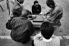 A game 650 (soyokazeojisan) Tags: japan osaka street bw city people blackandwhite monochrome analog olympus m1 om1 21mm film trix kodak memories 1970s