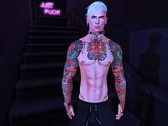 Trend Pizza (Tyler Absent) Tags: pizza muscle music attila band sexy hd handsome hot ripped second life selfie abs tyler deacon absent photography art tattoos chilling just fuck cool cute shadows visual