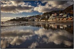 Broad Beach, Malibu. (drpeterrath) Tags: canon eos 5dsr malibu ocean pacific broad beach sun sky cloud sand blue landscape seascape color outdoor california calilife losangeles reflection water