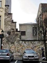 Trevor, Orkez, Iota, Roubens & Outings Project / Bruxelles - 22 dec 2018 (Ferdinand 'Ferre' Feys) Tags: bxl brussels bruxelles brussel belgium belgique belgië streetart artdelarue graffitiart graffiti graff urbanart urbanarte arteurbano ferdinandfeys bestof2018be