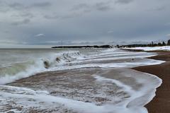 Vague (pascalroussy) Tags: paysage plage vague