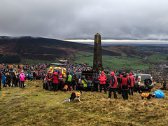 Remembrance Sunday 2018 - Pots and Pans - Saddleworth (Craig Hannah) Tags: potsandpans warmemorial warmonument remembrancesunday 11112018 hill peakdistrictnationalpark pennine saddleworth westriding greenfield uppermill crowds walk craighannah ww2 ww1 oldham greatermanchester yorkshire england uk november 2018 photography photos canon winter autumn fall remembrance people
