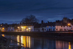 Blue Hour at Bewdley (Philip Moore Photography) Tags: bewdley worcestershire england riversevern river reflections longexposure bluehour landscape nightphotography quay